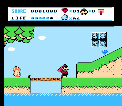FC/NES玛丽8代游戏下载