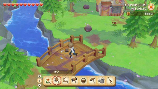 NS游戏《牧场物语 橄榄镇与希望的大地》发布1.0.5更新
