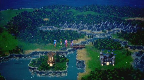 《勇者斗恶龙3 HD-2D重制版》正式公开,由八方旅人团队参与制作