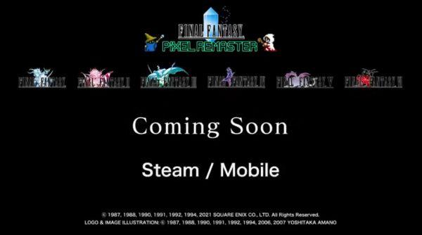 E3汇总:最终幻想1~6作将像素重制,最终幻想起源新作公布