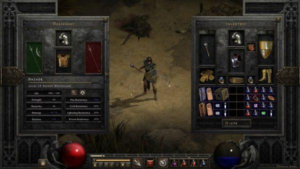 暗黑2重制版将加入自动拾币、存储箱共享等功能