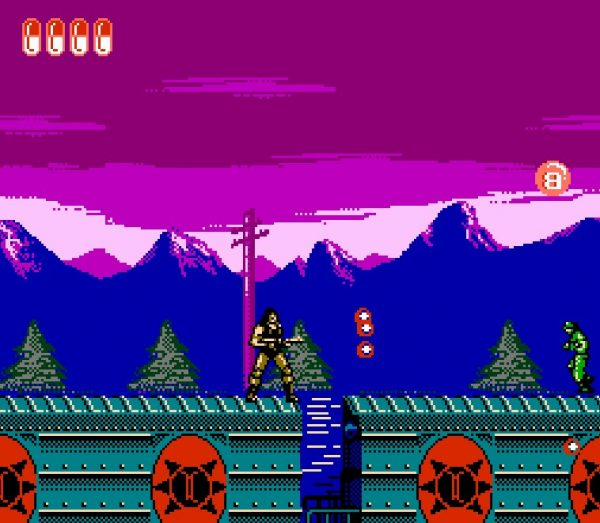 FC/NES Desert Storm(沙漠风暴)外星科技山寨版魂斗罗 游戏下载