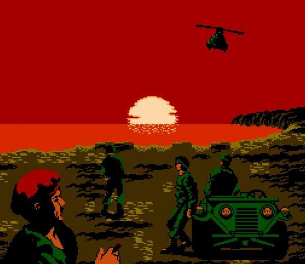 红白机《赤色要塞》竟然夹带了这么多私货,我都后悔自己当年玩过它!